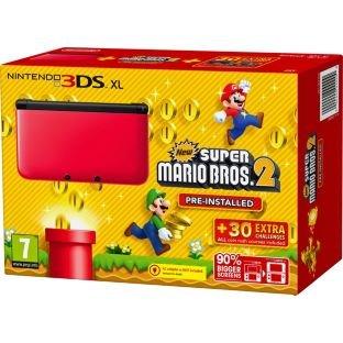 3DS XL Rot/Schwarz + New Super Mario Bros. 2 für 179€ + ggfs. 4,99 Euro Versand @MM