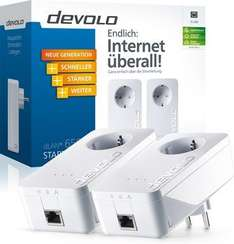 "Devolo PowerLAN Adapter ""dLAN 650+ Starter Kit"" (2 Adapter) für 79,85€ @ ZackZack"