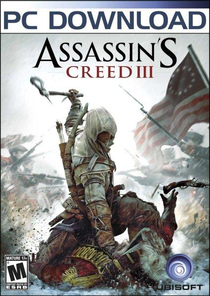 [Steam] Assassin's Creed III [Online Game Code] für 4,10 € @ Amazon.com