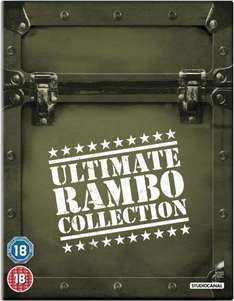 The Ultimate Rambo Collection 1-4 (2013) Blu-ray