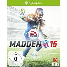 NFL Madden 15 für XBOX One für 40,29 € bei amazon.it