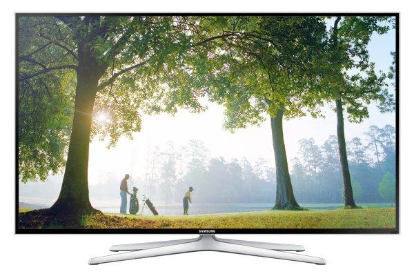 Samsung UE55F6470 3D-LED-Backlight-Fernseher, EEK A+ Full HD, 200Hz CMR, DVB-T/C/S2, CI+, WLAN, Smart TV, HbbTV, Sprachsteuerung