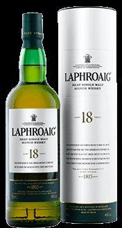 Laphroaig 18 Jahre Islay Single Malt Scotch Whisky (1 x 0.7 l)
