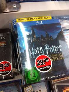 [Lokal Magdeburg] Harry Potter - Complete Collection [Blu-ray] - 29,99€ - Media Markt