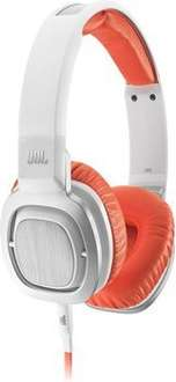 [mediamarkt] JBL J55i On-Ear-Kopfhörer mit Mikrofon weiß/orange, 34,99€ ggf. + 4,99€ VSK