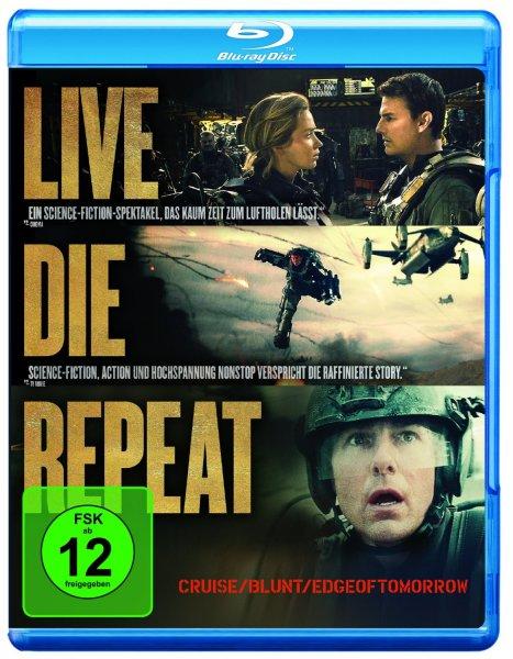Edge of Tomorrow - Live.Die.Repeat [Blu-ray] für 8,97 €  > [amazon.de] > Prime > 10 % Qipu