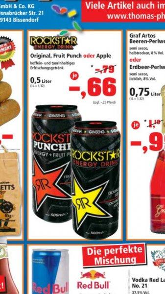 [LOKAL] Frechen Rockstar Energy Drink für 0,66 Euro