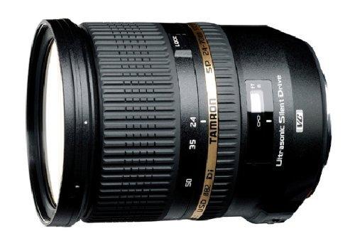 Für Canon: Tamron Weitwinkelobjektiv 24-70mm F/2,8 mit Bildstabilisator, USD-Motor   699.- statt 799.- (Amazon Blitzangebot, 72 % reserviert)
