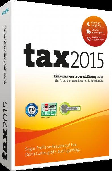 tax 2015 - für die Steuererklärung 2014 - Download