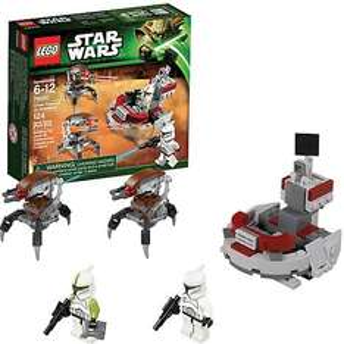 Bei Mytoys: LEGO 75000 Star Wars: Clone Trooper vs. Droidekas für 8,99 zzgl. Versand..MBW ist aber 15 Euro