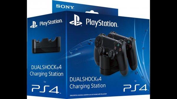 PS4 Dualshock4 Controller Ladestation 29,99€ anstatt 39,50€