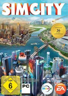 (Origin) SimCity (2013) für 6,66 Euro bei Amazon.de