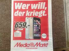 [lokal?] iPhone 6 - Media Markt Singen
