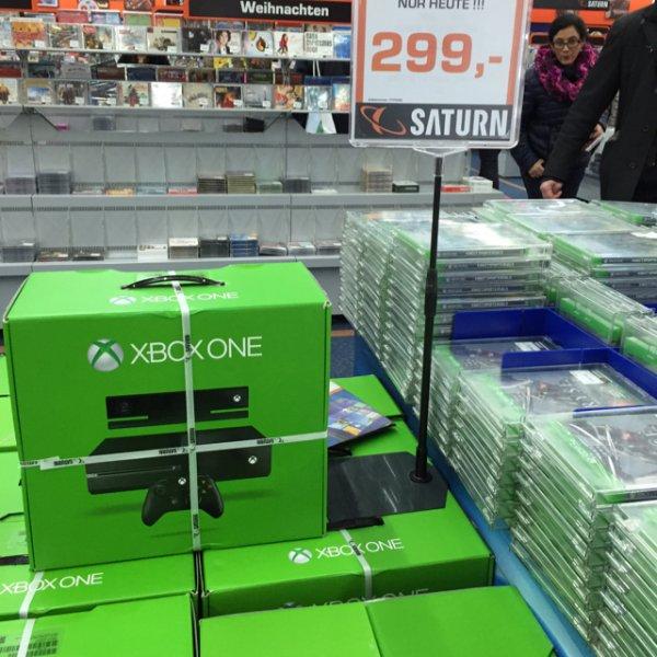 [Saturn Stuttgart ] XboxOne 500GB mit Kinect