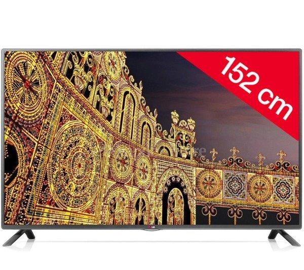 LG ELECTRONICS 60LB561V - LED TV, 152 cm (60 Zoll) Full HD, DVB-T/-C/-S2, 400Hz , EEK:A+, 719,99 € Vergleichspreis 899 € @ Pixmania.com