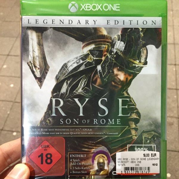 Ryse - Son of Rome Legendary Edition 19€ Lokal?