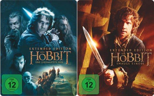 [Lokal Saturn Düsseldorf-Flingern] Der Hobbit - Eine unerwartete Reise/Smaugs Einöde (Extended Edition) auf BD im Steelbook für je 14,99 €
