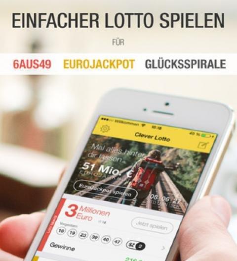 Cleverlotto - 5€ Guthaben bei kostenloser Anmeldung