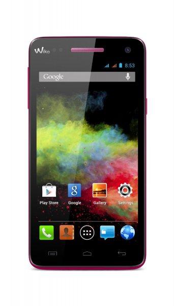 Wiko Rainbow ROT für ca. 100€ - Dual-Sim Smartphone bei Amazon FR WHD