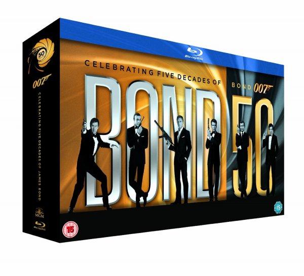James Bond 50 - Die Jubiläums Collection ohne Skyfall(Blu-ray)
