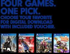 [PS4] Far Cry 4, Destiny, NBA 2k15, oder Little Big Planet 3 für je 34,49$ / digital aus den USA