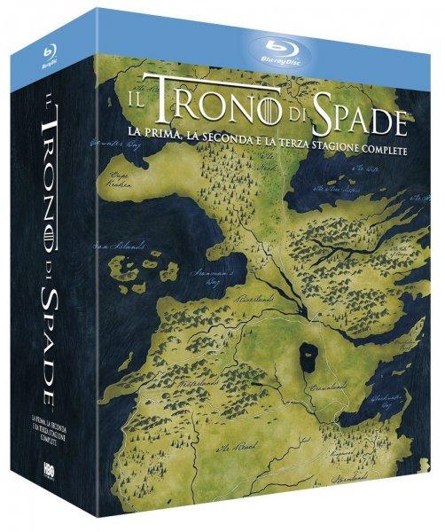 amazon.es: Game of Thrones Staffeln 1 bis 3 auf Blu-ray für 41,99€ (inkl. Versand) -> nur die Staffeln 2 & 3 haben deutschen Ton!