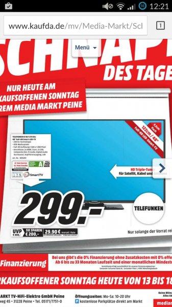"""48"""" Telefunken Fernseher lokal MM Peine"""