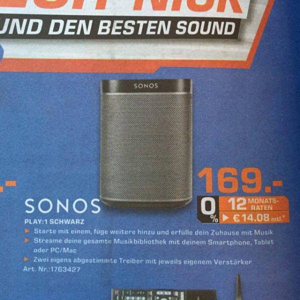 [Lokal: Saturn Göttingen] Sonos Play 1 für 169 Euro
