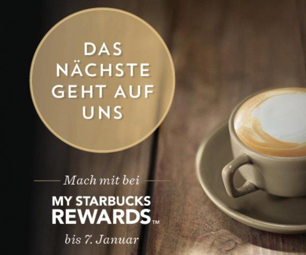 GRATIS Getränk bei Starbucks !