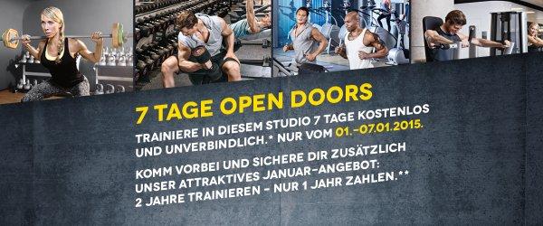 McFIT 2015: 2 Jahre trainieren - 1 Jahr zahlen mtl. 10,75€