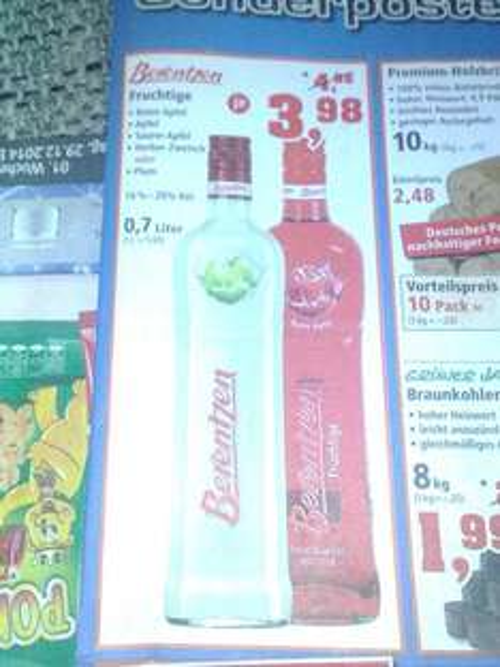 [Thomas Philipps] Berentzen Fruchtige 0,7L verschiedene Sorten