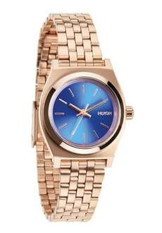 [Amazon.de] Nixon The Small Time Teller in Rose Gold/Cobalt für 56,72€ statt 70,90€ bzw.100€