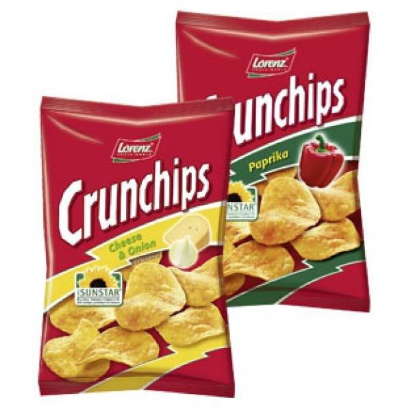 [V-MARKT] Crunchips versch. Sorten 150g/175g für 0,99€