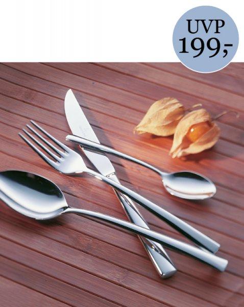 Villeroy & Boch Piemont Tafelbesteck 24tlg. 18/10 Edelstahl 1. Wahl @ebay für 44 Euro