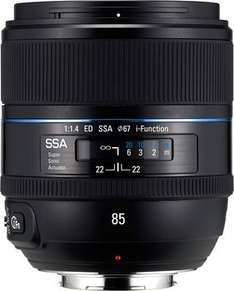 [Amazon.it] Objektiv Samsung T85NB, 85mm, F/1.4, i-Function: € 539,68