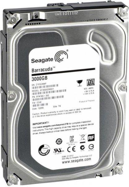 [Generalüberholt] Seagate Barracuda HDD 3TB 7200rpm 64MB Cache - Bei Ebay