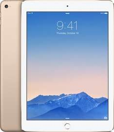 [CyberSale] ab 9.00h Apple iPad Air 2 Wi-Fi + Cellular 16 GB Gold LTE inkl. Versand