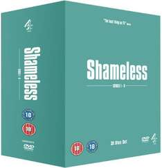 [DVD] Shameless Season 1-8 (UK-Original) - O-Ton @ WOWHD