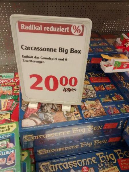 [lokal] Globus Maintal: Carcassonne Big Box (Grundspiel & 9 Erweiterungen) für 20€ statt 49€