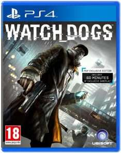 Watch Dogs PS4 Exclusive Edition für 31,75€ (-20%)