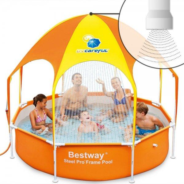 [WHD] Bestway 56193 Pool 244 x 51cm (Stahlrahmen) für 27,01 €