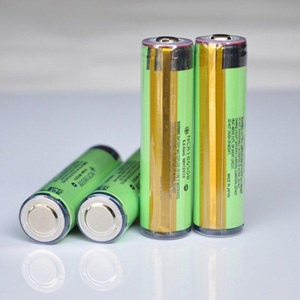 [banggood.com] Panasonic NCR 18650B 2er Pack Lithium-Ionen-Akku