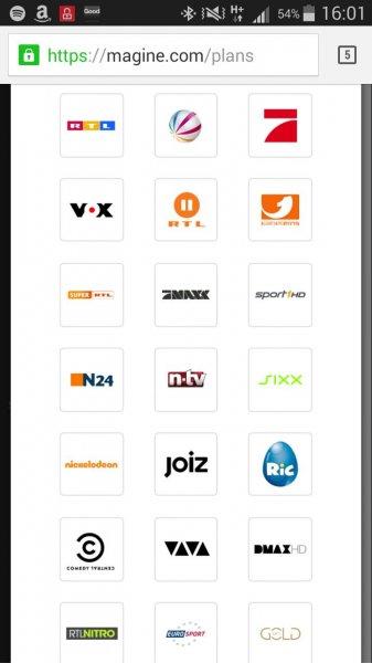 Magine TV (Internet TV) für 0,99€ / Mon statt 6,99€ / Mon für Registrierte vor 4. September 2014