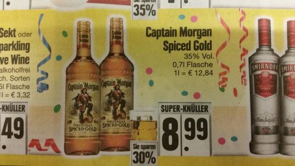[Offline] Captain Morgan spiced Gold bei Edeka 8,99