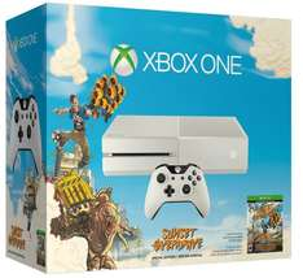 Saturn HH-HBF (Lokal) Xbox One Sunset Overdrive Bundle + FIFA 15 + Forza Horizon 2