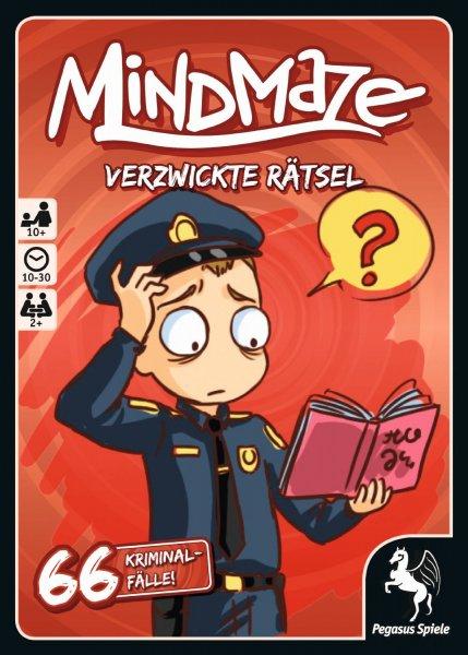 MindMaze - Verzwickte Rätsel - 66 Kriminalfälle - 5,65 € (mit Amazon Prime VK-Frei)