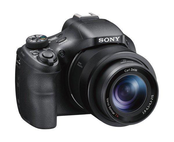 Sony DSC-HX400V Digitalkamera (20 Megapixel, 50-fach opt. Zoom, WiFi, NFC) schwarz inkl. Vsk für ~ 245 € > [amazon.uk] > Blitzangebot