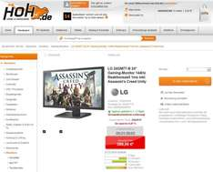 "LG 24GM77-B 24"" Gaming-Monitor 144Hz Reaktionszeit 1ms inkl. Assassin's Creed Unity"