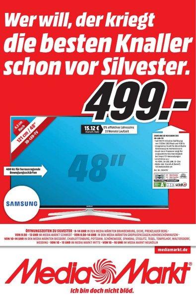 [Lokal Berlin Media Markt] Samsung UE 48 H 6600