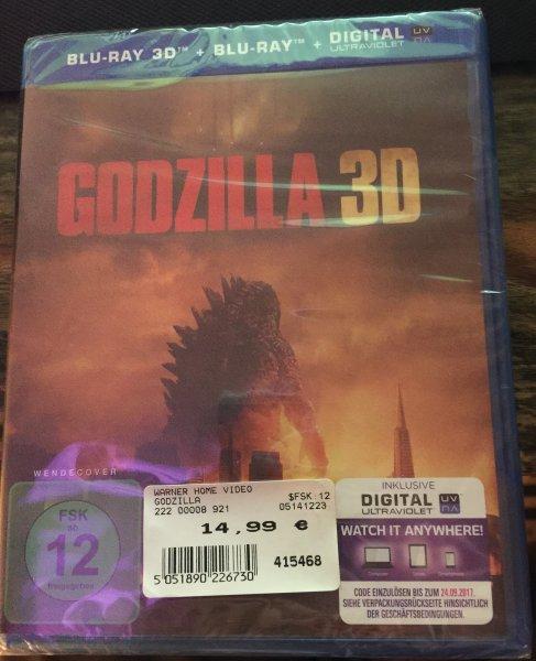 [Lokal - Expert Bamberg/Hallstadt] Godzilla 3D BluRay - 14,99-